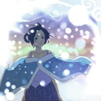 Tenten Snow by BayneezOne