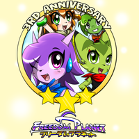3rd Anniversary Of Freedom Planet by KenjiKanzaki05