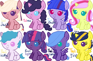 Twilight Sparkle Shipping Adoptables by memeoverlord