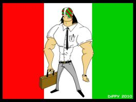 Business Man Luchador by dippydude