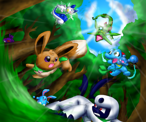 Pokemon Mystery Dungeon by Foxeaf