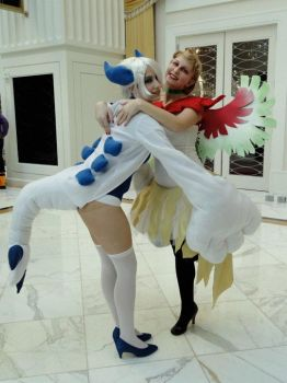 Lugia Cosplay 4 by kuramachan
