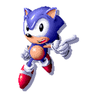 [SPRITE] Some Sonic  Thing by ZanaGB