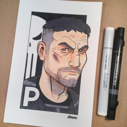 P is for Punisher by D-MAC
