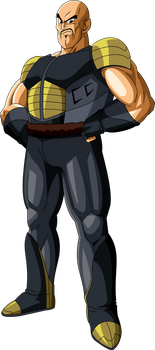 Nappa (Saiyan Saga) MLL Redesign by MAD-54