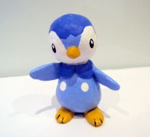 Piplup sculpture