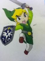 Toon Link 2 by Averageon