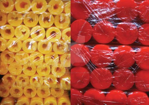 Yellow and Red by veelkaproject