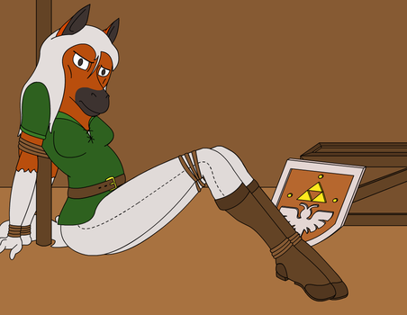 Epona Tied Up by WolfN85