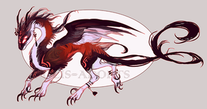 [CLOSED] adopts auction 67 - Bloody Wind by Polis-adopts