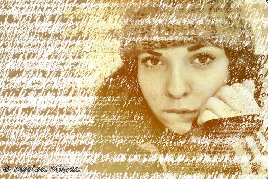 Portrait in Words by mmariang