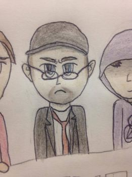 The Nostalgia Critic has Glasses Now! by BlueMoonSamurai