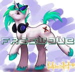 Freewave Oc (edit from RawrCharlieRawr original) by TheFreewave