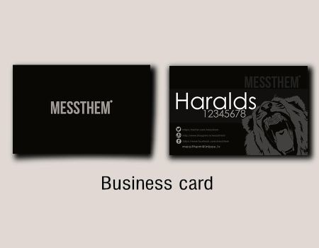 Messthem business Card by messthem