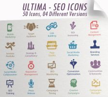 Ultima SEO Services Icons by kh2838