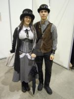 Couple Steampunk by castor227027