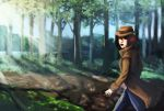 Venturing through the woods by A-Fox-Of-Fiction