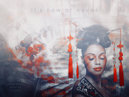 It's Now Or Never by Kharma-Knight