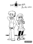 Inktober 2014 - #14 - Kim Pine and Stephen Stills by pro-mole