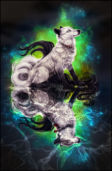 .:Galaxy Wolves:. by WhiteSpiritWolf