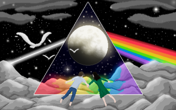 The Dark Side of The Moon by iKrosis