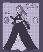 Holly Blue- Fusion of Pearl and Moonstone by Thongchan