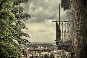 the one with the old balcony by DanielGliese