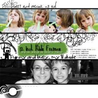 12 Inch Frame Templates for Photoshop by Valgal02
