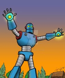 Giant Robot Color by pjperez