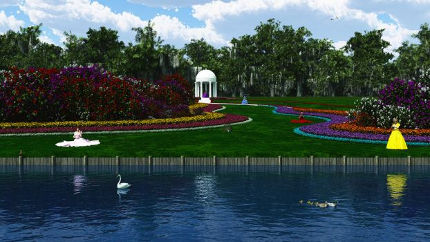 Cypress Gardens by stagelighting