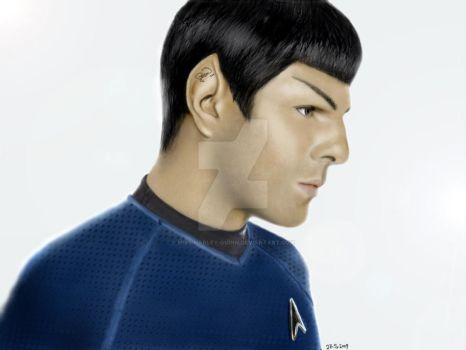Quinto as Spock by Miss-Harley-Quinn