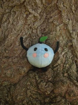 Blue junimo plush by WhimsicalSquidCo