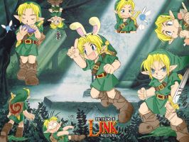 Link Wallpaper by 6-5and5-11