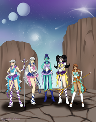 Commission: Gathering of the Zodiacs by Ayachi-chan