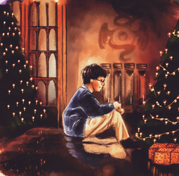 Harry Potter- Christmas Drawing Fun by thalle-my-honey