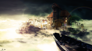 Steam Punkowy Gdansk by DeaDerV23