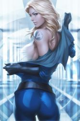 Invisible Woman by Artgerm