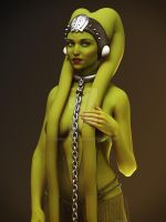 Green Twi'lek by Edheldil3D