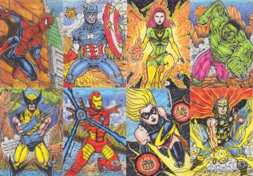 For Sale - 2016 Marvel Masterpieces Sketch Cards by NaGaSaNe