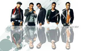 cam gigandet wall by Paulapino