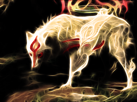 Okami - The Great Spirit by wazzy88