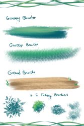 Free Csp Brushes Pack 1 by Yettyen