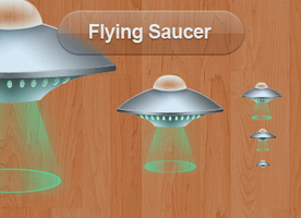 Flying Saucer by iTweek