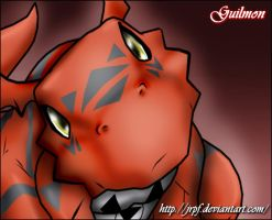 Guilmon by JaycaChan