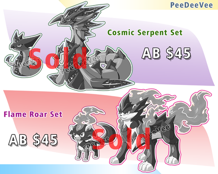CLOSE Fakemon auction .:Cosmic+Flame:. CLOSE by PEQUEDARK-VELVET