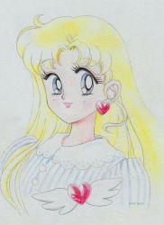 Usagi hair down by seresere