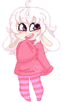 I'm Cute and Pink by JessiiRoo