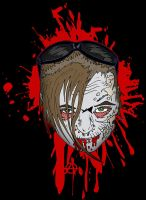 Vickie the Zombie by ZMBGraphics