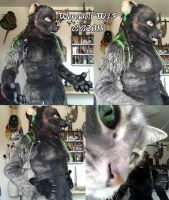 BSD WIP 3/4 suit by Magpieb0nes
