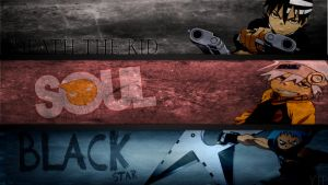 Soul Eater background (DTK and Soul and BS) by Yophi-Bo